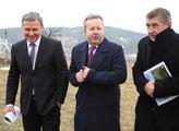 Premiér Andrej Babiš s ministrem životního prostře...