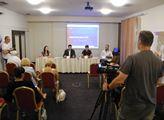 Tisková konference kandidátů koalice Soukromníci, ...