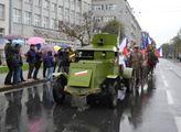 Historický průvod k výročí 100 let republiky v Ost...