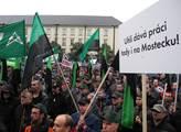 Ostravské horníky přijeli podpořit i kolegové z Mo...