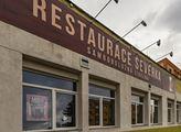 Restaurace Severka v Mostě, kde se natáčel seriál ...