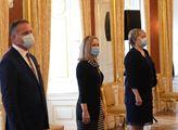 Prezident republiky Miloš Zeman jmenoval předsedy ...