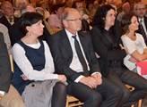 Mezi posluchači byl také poslanec hnutí ANO Ivan P...