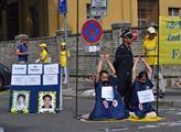 Demonstranti požadují, aby odebírání orgánů vězněn...