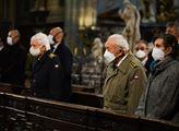 Mše na Pražském hradě v katedrále svatého Víta, Vá...