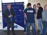 Volební mítink Andreje Babiše v Ústí nad Labem