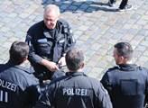 V ulicích Hamburku před konáním summitu G20