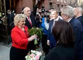 Prezident Miloš Zeman při zahájení již třetí návšt...