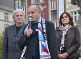 Ne islámské imigraci. Demonstrace v Ostravě s Mart...