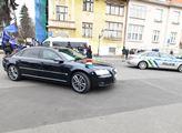 Příjezd maďarského premiéra Viktora Orbána ke Kram...