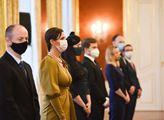 Jmenování soudců prezidentem Milošem Zemanem na Pr...