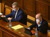 Prezident Miloš Zeman přednesl svůj projev ve sněm...