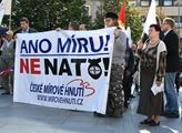 Na Václavském náměstí se uskutečnil 11. 7. protest...