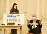Nadační fond Miloše Zemana věnoval 1,5 mil korunu ...