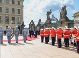 Německý prezident Frank-Walter Steinmeier přijel d...