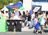 Protestní pochod: Stop pogromům proti Romům na Ukr...