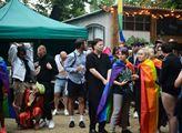 Zahájení festivalu komunity LGBT Prague pride 2020...