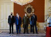 Prezident Miloš Zeman po návratu z dovolené jmenov...