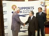 Václav Klaus a Charles Dallar na přednášce CEP