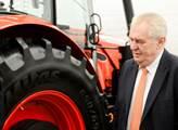 Prezident Miloš Zeman navštívil jihomoravský kraj