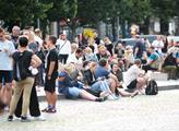Na Václavském náměstí se ve středu uskutečnil velk...