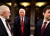 Exprezident Václav Klaus na Vítkově při příležitos...