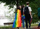 Zahájení festivalu Prague Pride 2021 na Střeleckém...
