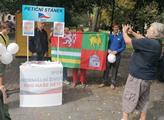 Petiční stánek SPD na Jarmarku v Plzni