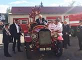 Prezident navštívil hasičskou základnu HZS Jihočes...