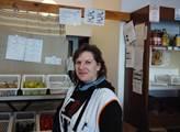 Hana Starinská z mísní prodejny Jednota