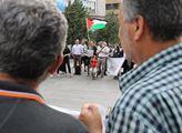 Protest k 70 letům pokračující palestinské Nakby, ...