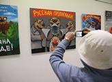 Výstava Ruská propaganda kontroverzního ruského um...