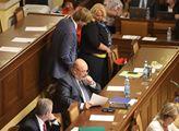Na pořadu schůze sněmovny byla výroční zpráva ČNB ...