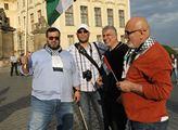 Happening na Hradčanském náměstí při příležitosti ...