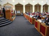 Poslední jednání pražského zastupitelstva před prá...