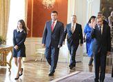 Prezident Miloš Zeman jmenoval vládu Andreje Babiš...
