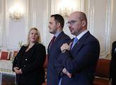 Prezident republiky Miloš Zeman přijal na Pražském...
