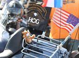 Oslavy 115. výročí značky Harley-Davidson. Centrem...