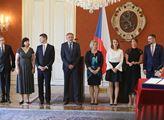 Prezident Miloš Zeman jmenoval Andreje Babiše před...