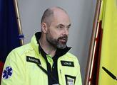 Ředitel pražské záchranné služby Petr Kolouch