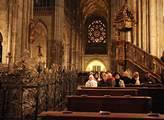 V Chrámu svatého Víta na Pražském hradě sloužil ka...