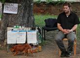 Occupy Vyšehrad měli brífink