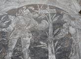 Sgrafita na zdi Martinického paláce