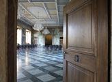 Jeden ze sálů Martinického paláce