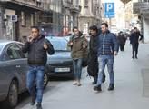 Migranti v hlavním městě Srbska Bělehradě