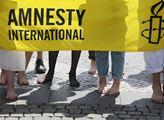Pouliční flash mob na téma trh s otroky, kterým če...