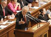 Projev prezidenta Miloše Zemana na podporu vyslove...