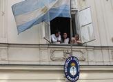 Protest před ambasádou Brazílie proti kácení deštn...