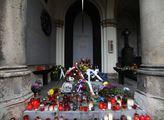 Hrob prvního prezidenta po sametové revoluci Václa...