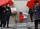 Pochod Prahou při příležitosti Mezinárodního dne z...